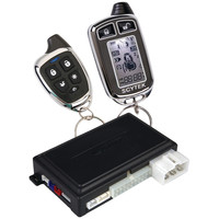 Galaxy 1-way Remote Engine Start & Keyless-entry System With 2 Slim Chrome 5-button Remotes