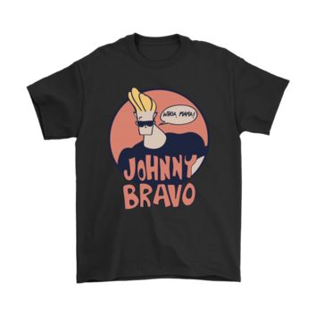 QIYIF Johnny Bravo Whoa Mama Handsome Shirts