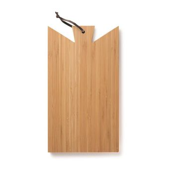 Bamboo Cutting and Serving Board with Handle