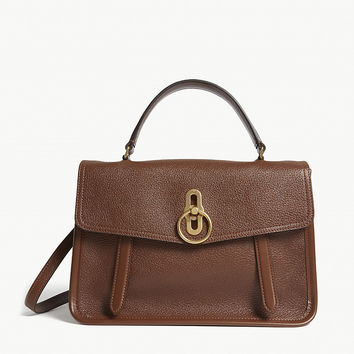 MULBERRY Gracy grained leather satchel
