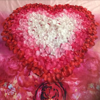Free shipping 21colors 100 pcs/lot Atificial Wedding Rose Petals wedding centerpieces wedding decoration christmas decoration