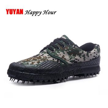 New 2017 Camouflage Shoes Army Green Fashion Mens Brand Shoes Non-slip Thick Sole Men's Casual Shoes Male Canvas Footwear K069