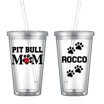 Pit Bull (Original) Double Wall Tumbler - Perfect Gift - Free Shipping