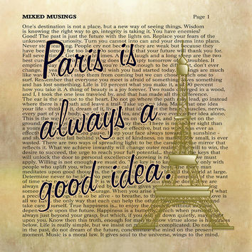 Paris Good Idea Always