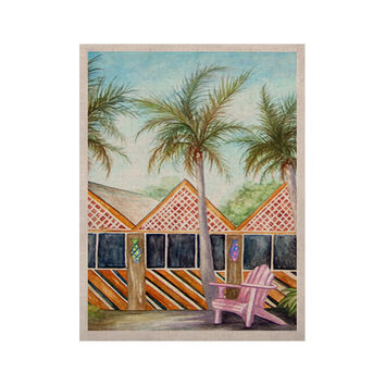 """Rosie Brown """"McT on Sanibel"""" KESS Naturals Canvas (Frame not Included)"""