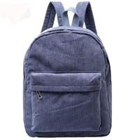 Girls And Guys Corduroy Backpack