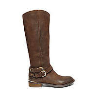 Black Riding Boots with Buckles | Steve Madden AVILLA