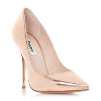 DUNE LADIES AIMEY - Pointed Toe high Heel Court Shoe - rose gold | Dune Shoes Online