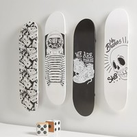 Skate Deck Wall Decor, Set of 4