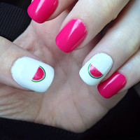 Watermelon Nail Decals