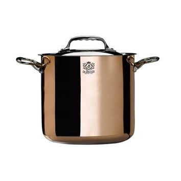 de Buyer Prima Matera Stockpot with Lid 8-in
