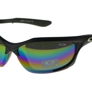 Oakley Asian Fit Sunglasses Black Frame Colored Lens
