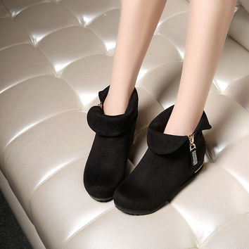 Rhinestone Ankle Boots Women Shoes Fall|Winter 7843