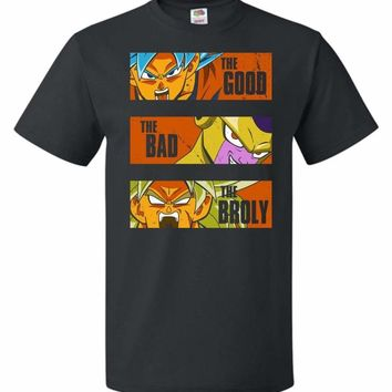 The Good The Bad The Broly Unisex T-Shirt