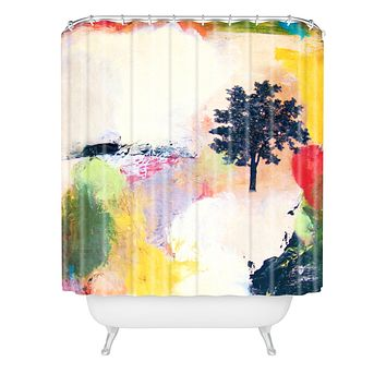 Natalie Baca Emerge Shower Curtain