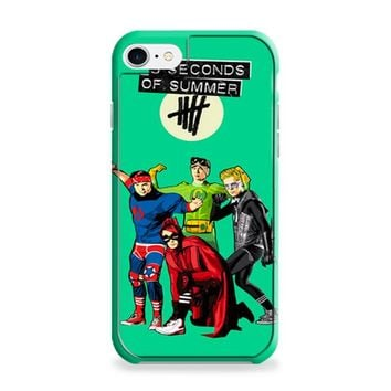 5 Seconds of Summer Superheroes iPhone 6 | iPhone 6S Case
