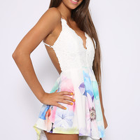 Veronica Playsuit - Floral