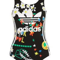 Floral Swimsuit by Adidas Originals - Topshop