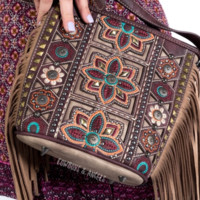 Bohemian Rebel Fringe Purse