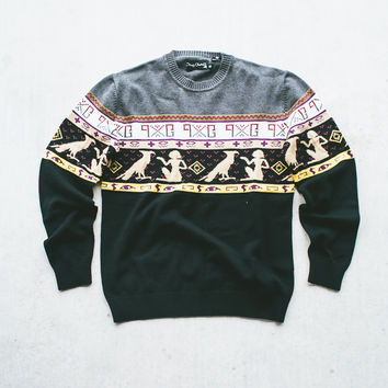 Play Cloths Nazca Knit Crew Sweater
