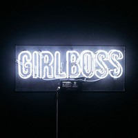 The Oliver Gal Artist Co. Girlboss Neon Sign | Urban Outfitters