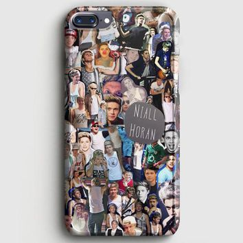 Niall Horan Collage Cartoon iPhone 8 Plus Case | casescraft