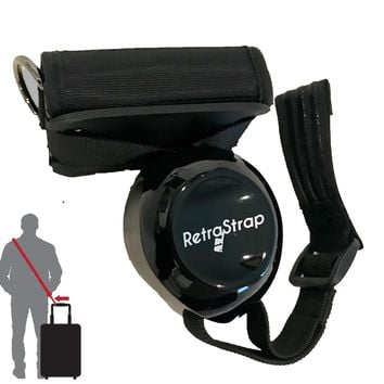 RetraStrap Hands Free Your Carry-On Luggage - Anti Theft. Anti-Forgetting Less Stress