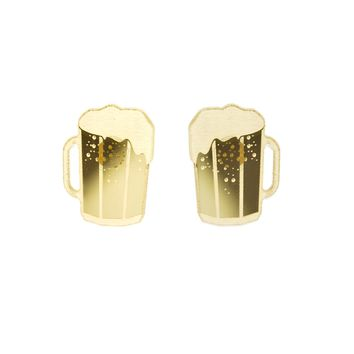 Beer Mug Earrings