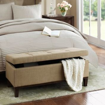 Regency Heights® Amherst Bench Storage Ottoman