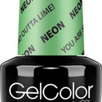 OPI GelColor - You Are So Outta Lime 0.5 oz - #GCN34