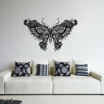 ik298 Wall Decal Sticker Decor beautiful delicate butterfly insect interior