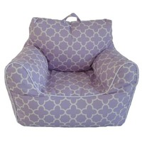 Lavender Printed Chair with Removable Cover - Walmart.com