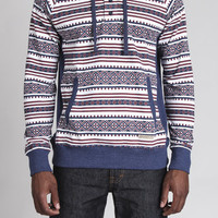 Aztec French Terry Henley Pullover Hoodie
