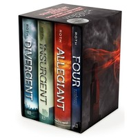 Divergent Series Ultimate Four-Book Box Set: Divergent, Insurgent, Allegiant, Four (Hardcover)
