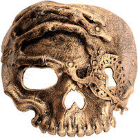 Skull Mask with Elastic Bands