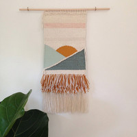 Handmade wall weaving | Seaside