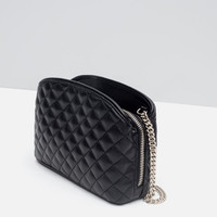 MINI QUILTED MESSENGER BAG