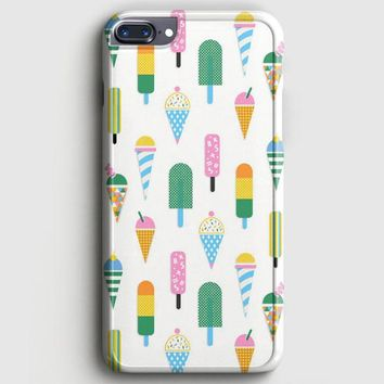 Ice Cream Cone Popsicle iPhone 7 Plus Case