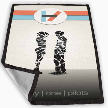Twenty one pilots Blanket for Kids Blanket, Fleece Blanket Cute and Awesome Blanket for your bedding, Blanket fleece **