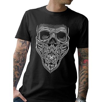 """MOURNING GLORY"" MENS COTTON TEE"