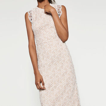 LACE MIDI DRESS - View All-DRESSES-WOMAN | ZARA United States