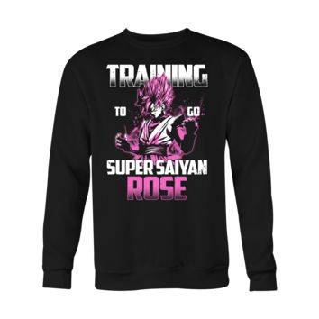 Super Saiyan - Training to go Super Saiyan Rose - Holiday Special SweatShirt T Shirt - TL00817SW