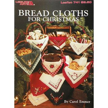 Bread Cloths for Christmas - Counted Cross Stitch Leaflet - Leisure Arts
