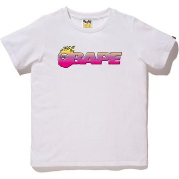 FIRE BAPE TEE LADIES