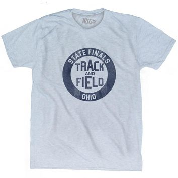 Ohio State Finals Track and Field Adult Tri-Blend T-shirt