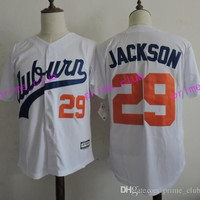 2017 Auburn Tigers Bo Jackson College Baseball Jerseys #29 Bo Jackson Stitched University Baseball Jersey Best Quality S-XXXL