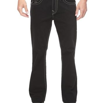 True Religion Hand Picked Straight Mens Jean - Black