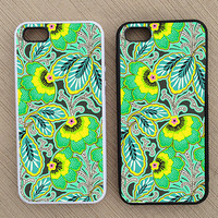 Floral Pattern iPhone Case, iPhone 5 Case, iPhone 4S Case, iPhone 4 Case - SKU: 220