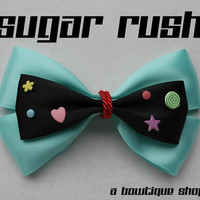 sugar rush hair bow