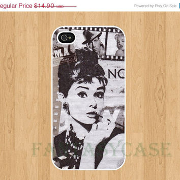 SALE Audrey Hepburn Cinema - iPhone 4 Case , iPhone 4s , iPhone 5 Case , Galaxy S3 Cover , Galaxy S2 i9100 , Galaxy Note2 , Cases